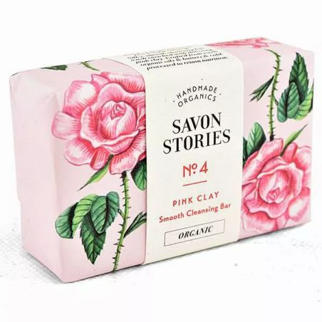 Savon Stories - Savon Bio - Argile Rose - OhSens.fr