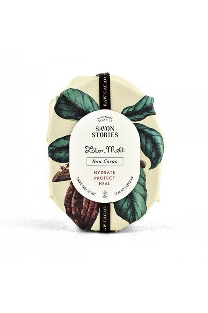 Savon Stories - Baume Solide Bio - Cacao Brut - OhSens.fr