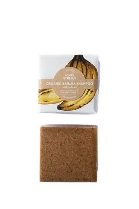 Savon Stories - Shampoing Solide Bio - Banane - OhSens.fr